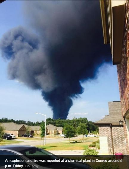2015 08 14 Chem plant explosion in Texas 6