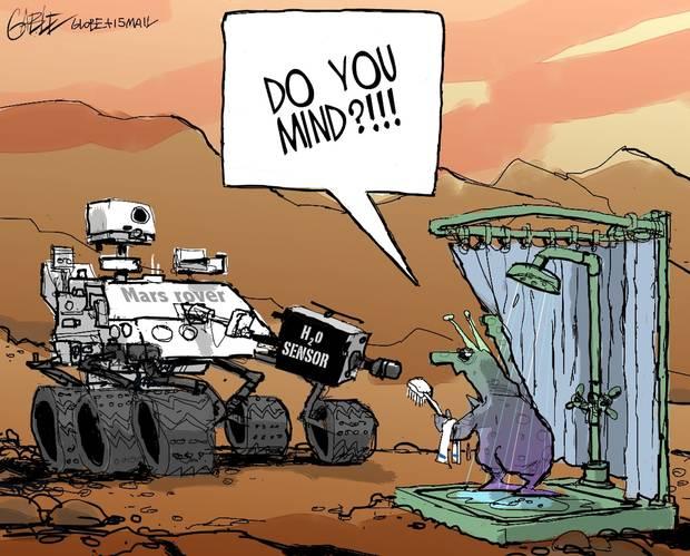 2015 09 29 Water on Mars, but no safe water for Albertans Ernst, Campbells, Zimmermans, Hawkwoods, Schwiegers, Rosebud, Redland, etc