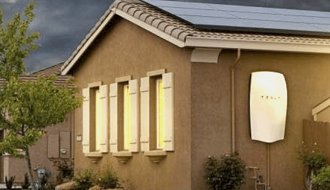 2015 solarcity installation of Telsa's Powerwall battery for citizens