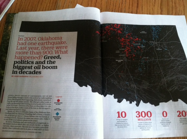 2016 03 Okie frac waste quakes make Time Magazine