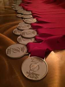 2016 04 20 Writers' Trust of Canada Photo of medals for Shaughnessy Cohen Prize for Political Writing