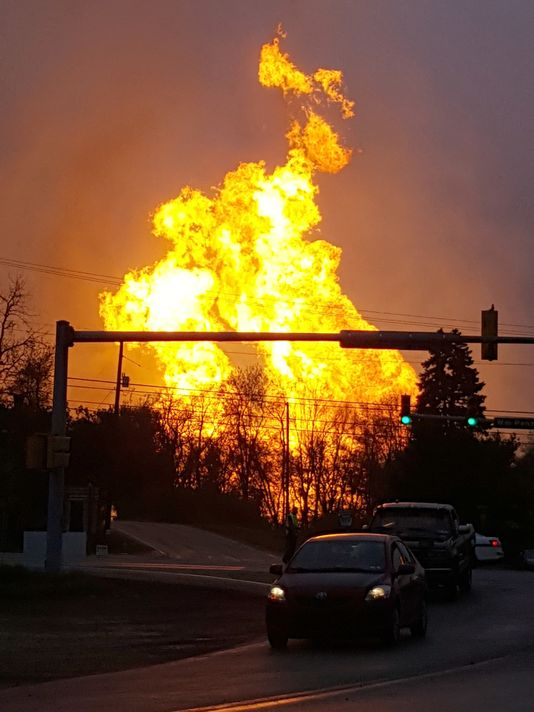 2016 04 29 Salem Twp Spectra Pipeline Explosion, critically injured 26 year old man, destroyed home, farmland2