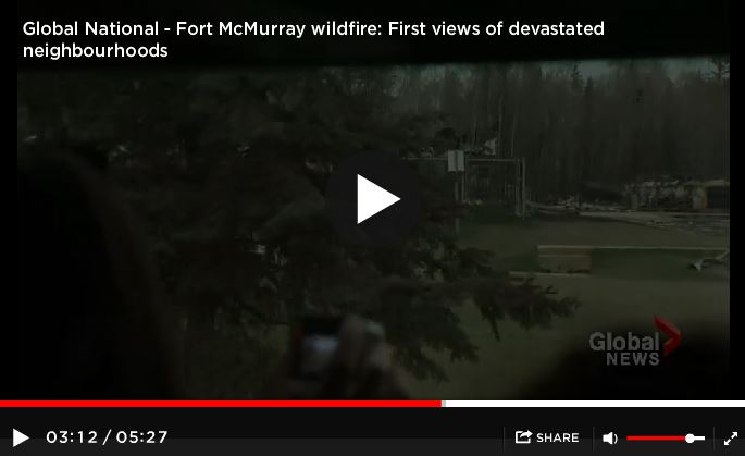 2016 05 12 Global News on non-disclosures if entering Ft McMurray after wildfires