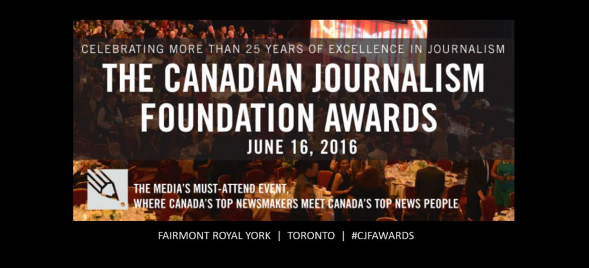 2016 060 16 The Canadian Journalism Foundation Awards snap