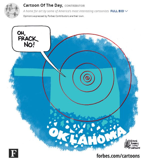 2016 09 06 Forbes cartoon of the day, 'Oh Frack No'