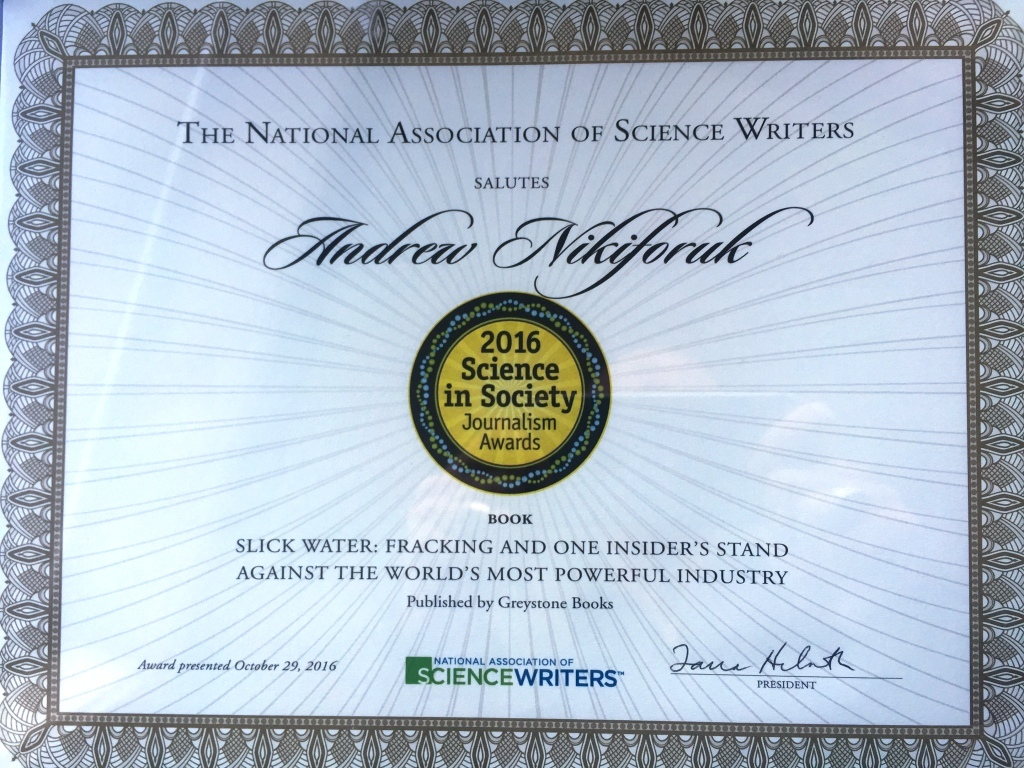 2016-10-29-usa-science-in-society-book-award-for-andrew-nikiforuks-slick-water