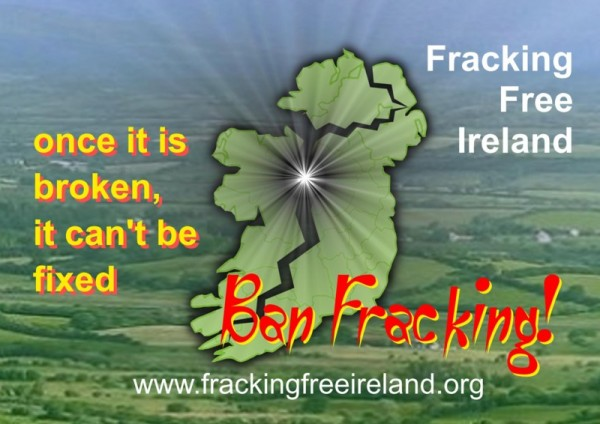Ban-Fracking-Poster Fracking Ireland