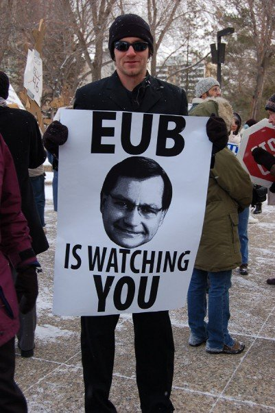 Mike_Hudema_EUB (now Alberta Energy Regulator) is watching you