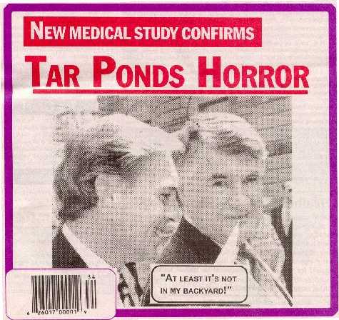 Sydney tar ponds horror, new UK medical study horrifying news for victims donrussell
