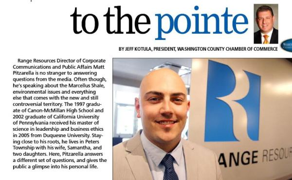 To the Point, Range's Matt Pitzarella